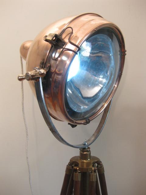 42 1940 S Copper Naval Flood Light Unodesmoda
